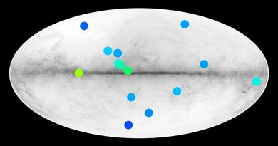 Estrellas de antimateria estarían ocultas en la Vía Láctea