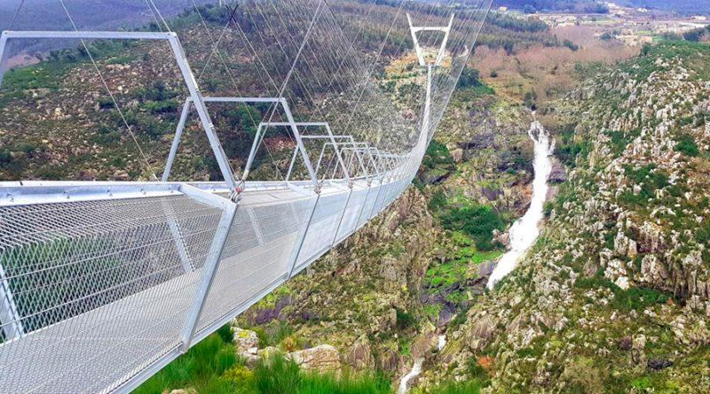 Abre en Portugal el puente colgante peatonal más largo del mundo y es espectacular