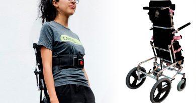 Dos jóvenes mexicanas crearon una silla que ayuda a las personas con discapacidad a ponerse de pie