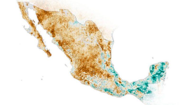 México vive su peor sequía en 30 años, según la NASA
