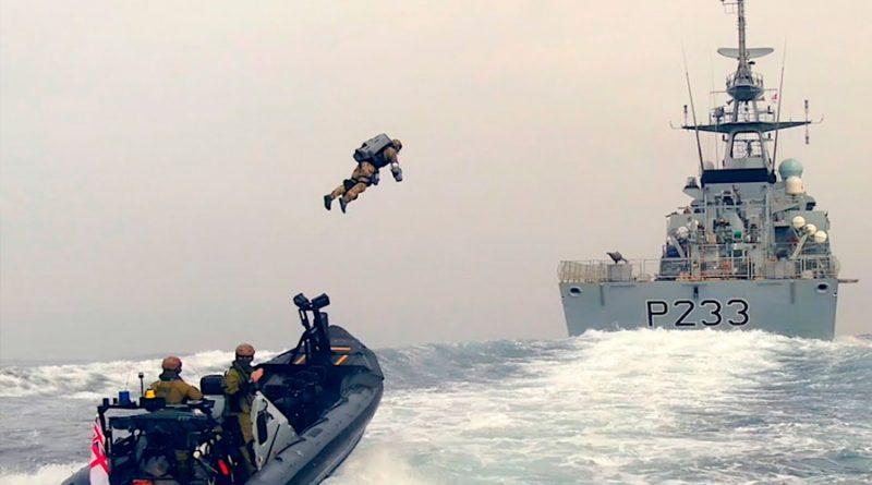 Así son los increíbles trajes para volar que prueba el ejército británico