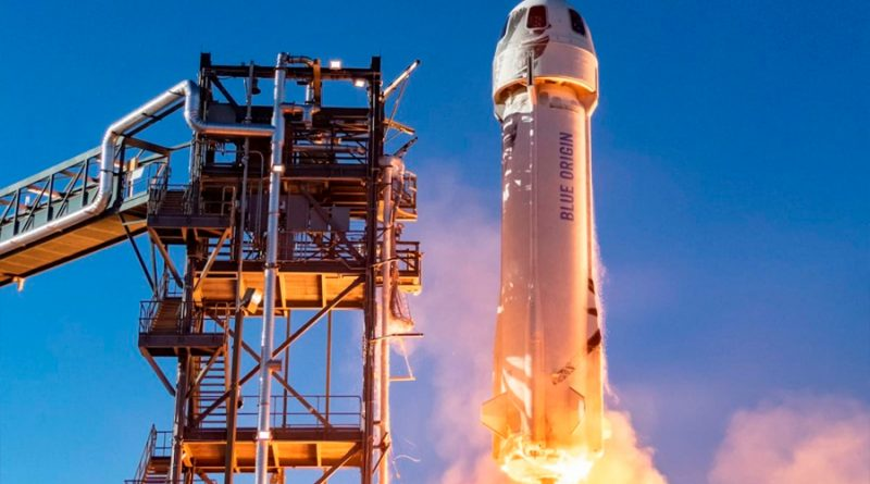 Blue Origin subastará un lugar en su primer vuelo de turismo espacial