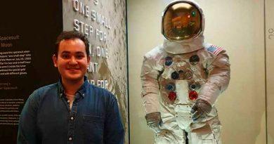 El mexicano que ganó una beca de astrofísica de la NASA