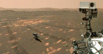El brazo de Perseverance busca agua en Marte
