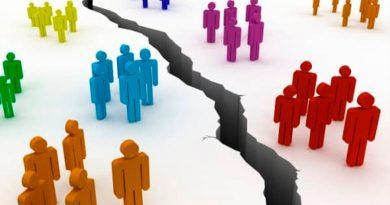 Cómo disminuir la división en la sociedad