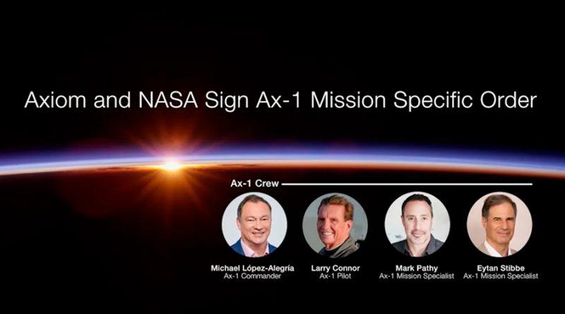 Comienza entrenamiento de la primera tripulación privada para la ISS