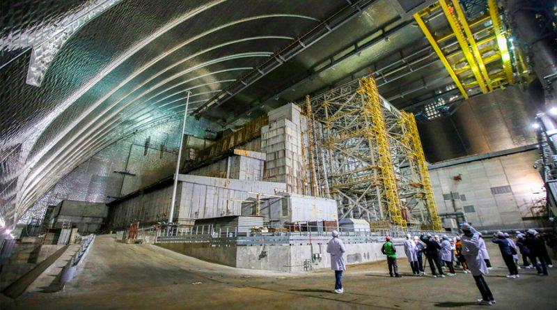 Detectan cantidad inusualmente alta de neutrones en una habitación inaccesible en la planta de Chernobyl