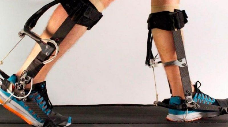 Exoesqueleto de tobillo para poder caminar más deprisa