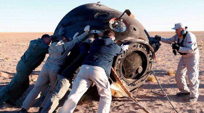 Agencia espacial rusa pone a la venta una cápsula de descenso Soyuz