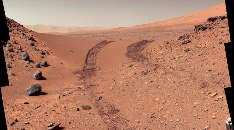 La NASA busca sales orgánicas en Marte como indicio de vida pasada