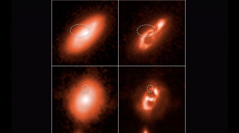 Hubble localiza el origen de cinco señales cósmicas de radio FRB