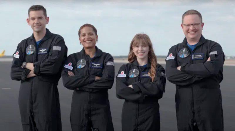 Así entrenan los astronautas de la misión de SpaceX, Inspiration4