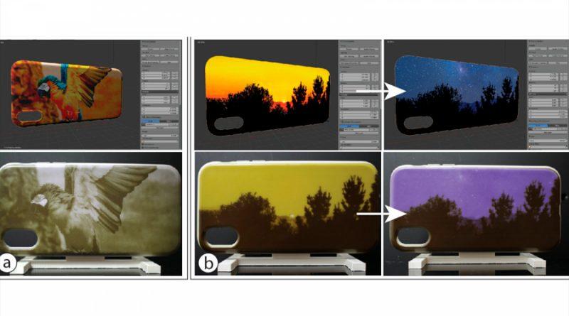 Crean una pintura sensible a la luz que cambia el color de la funda de tu móvil