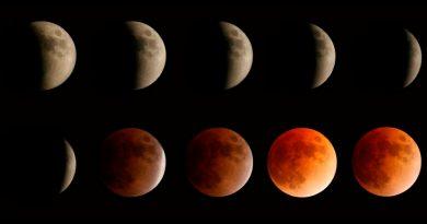 Todo sobre el eclipse de luna de la madrugada de este miércoles