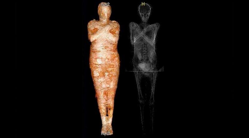 Descubren una momia egipcia embarazada