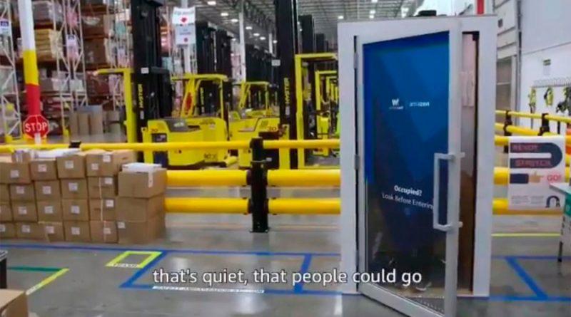Así son las nuevas cabinas antiestrés que están probando en los almacenes de Amazon