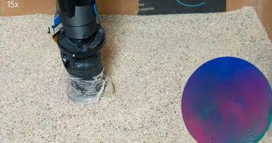 Expertos desarrollan un dedo robótico que detecta objetos enterrados