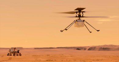 'Ingenuity' presenta fallas al sobrevolar superficie de Marte