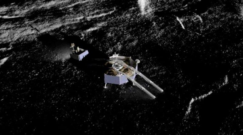 Robot de la NASA buscará agua en cráteres lunares