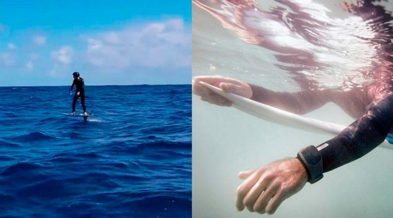 Mark Zuckerberg practica surf con una pulsera que repele a los tiburones, ¿realmente funciona?