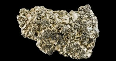 Científicos descubren que un mineral común contiene un nuevo tipo de oro