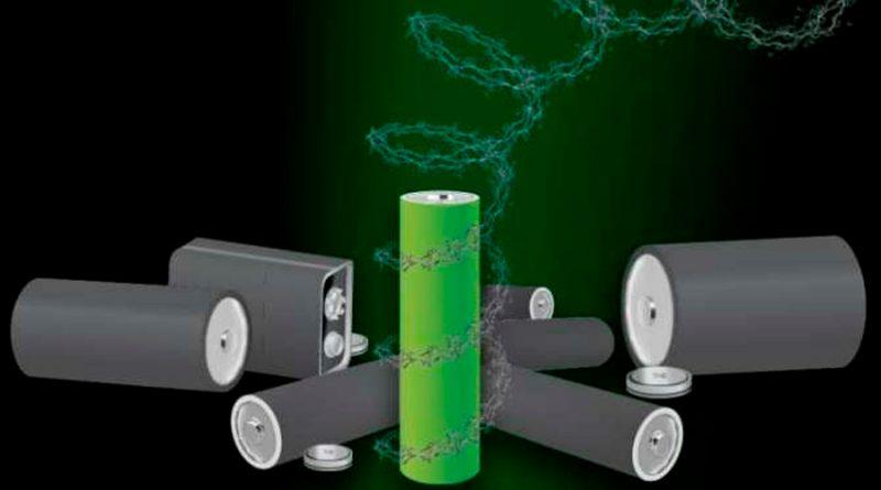 Pilas eléctricas sin metales