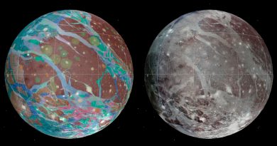 La misión Juno vuela a mil kilómetros de Ganímedes