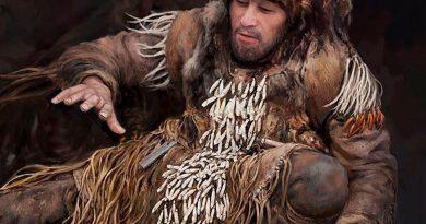 Sonajeros de dientes de alce, accesorio de baile en la Edad de Piedra