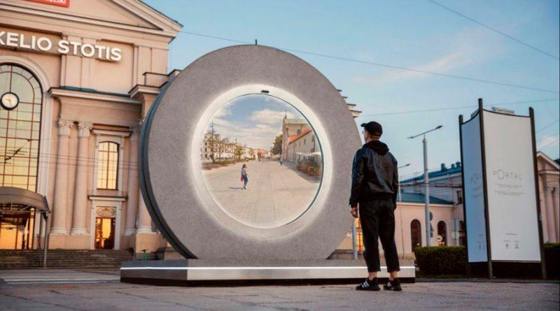 En Lituania han abierto un Portal que conecta con Polonia