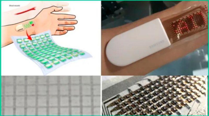¿Piel electrónica estirable? Samsung podrá detectar los latidos de tu corazón con este dispositivo