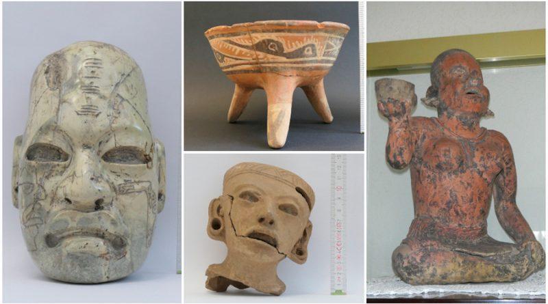 Figuras y vasijas: 34 piezas arqueológicas fueron devueltas por ciudadanos alemanes a México
