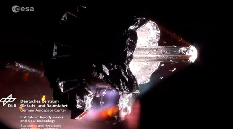 Así se desintegra un objeto cuando entra a la atmósfera terrestre