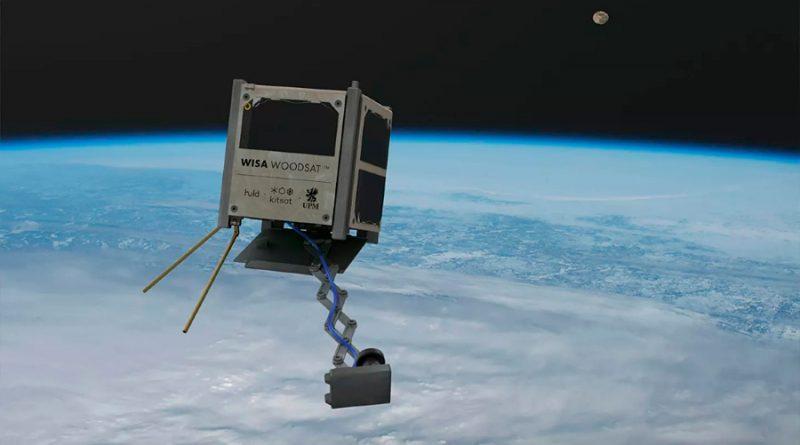 Novedoso satélite de madera podría orbitar el Espacio a finales de año