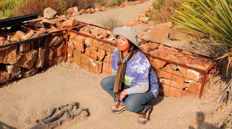 El patrimonio paleontológico da cuenta de la historia del lugar, mi historia se remonta a 72 millones de años: Felisa Aguilar Arellano