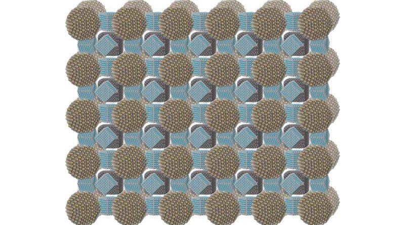 Superfluorescencia mediante combinaciones de nanopartículas