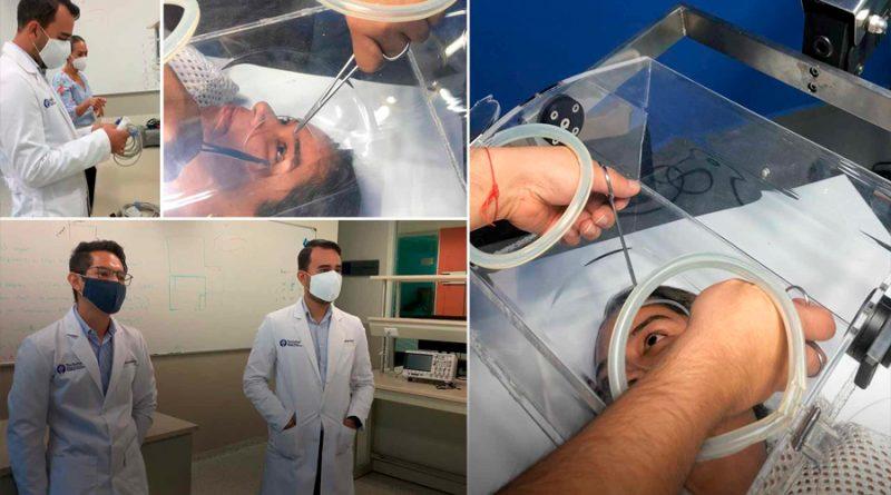 Crean patente: profesores de universidad mexicana diseñan dispositivo para oftalmología