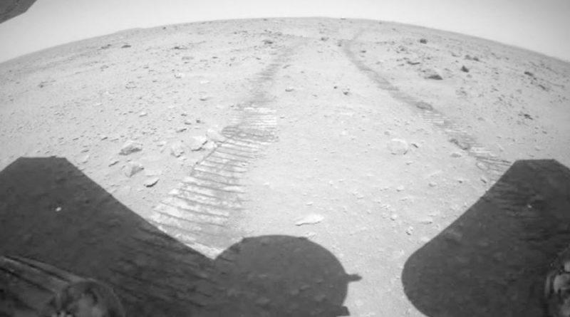 Escucha los primeros sonidos en Marte del rover chino Zhurong