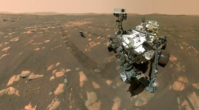 Marte: así fue como el Perseverance logró tomar su primera selfi