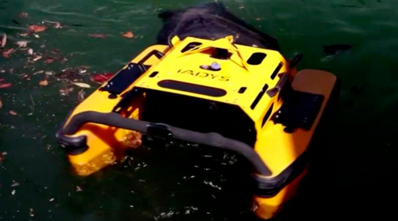 Jellyfishbot, el robot medusa que recolecta basura y residuos en el mar