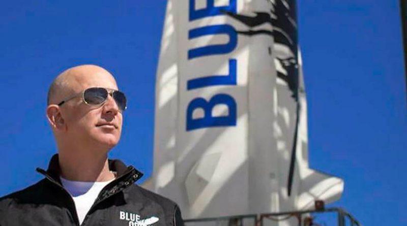 Así será este martes el viaje espacial de Jeff Bezos con Blue Origin