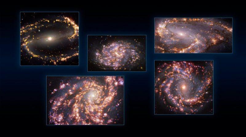 'Fuegos artificiales' galácticos arrojan luz sobre la formación de estrellas