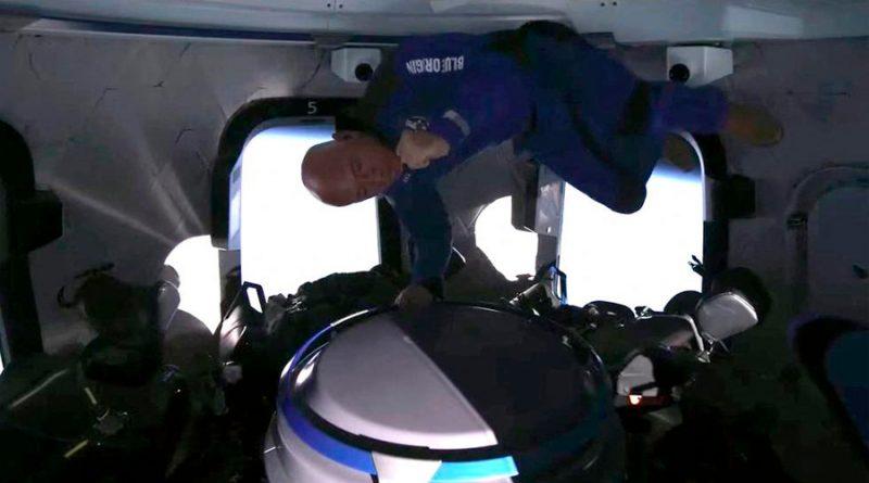Jeff Bezos: así fue el viaje de 11 minutos al espacio del multimillonario