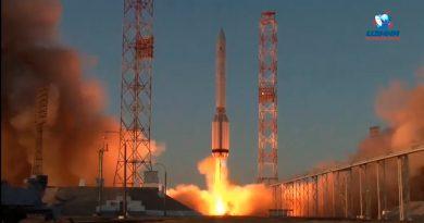 Lanza Rusia nuevo módulo científico a la Estación Espacial y un brazo robótico europeo