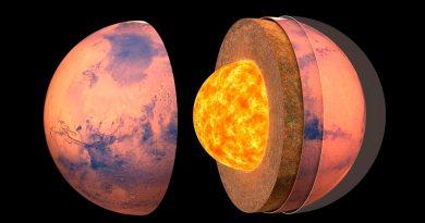 La estructura interna de Marte revelada gracias a sus movimientos sísmicos