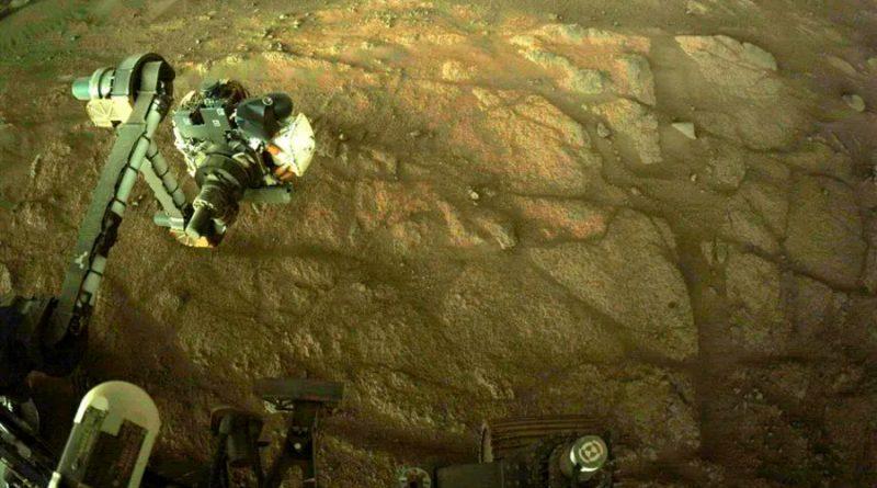 El rover Perseverance se alista para tomar las primeras muestras de rocas de Marte