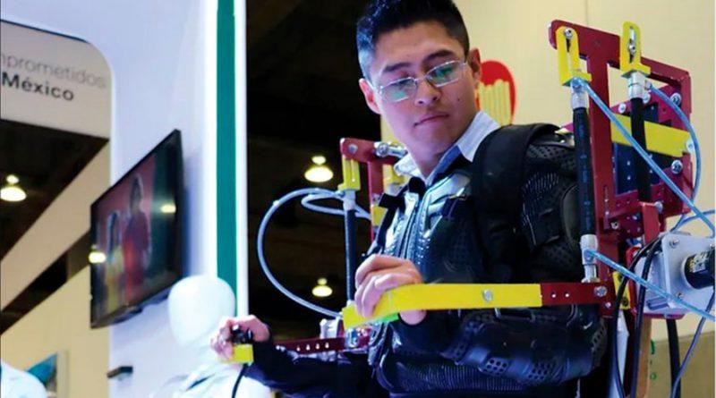 Estudiantes mexicanos diseñan exoesqueleto para cargas pesadas