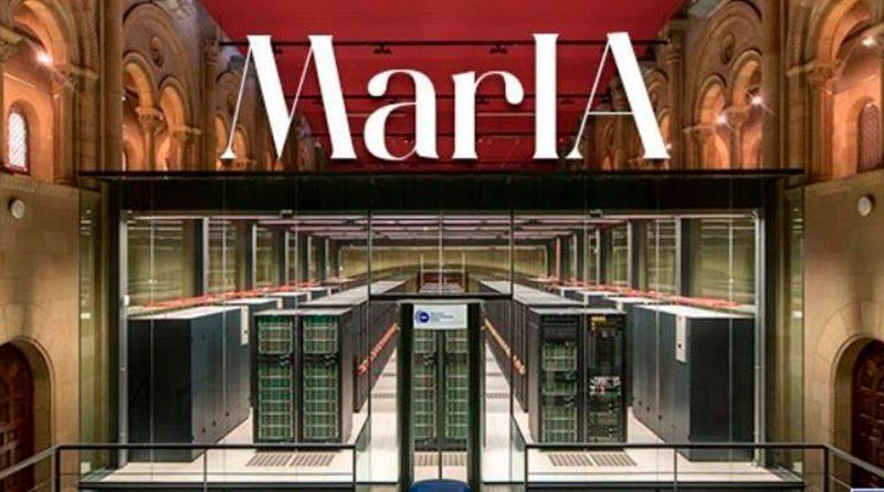 Nace MarIA, el primer modelo masivo de inteligencia artificial de la lengua española