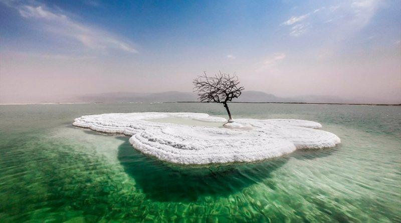 El Mar Muerto emite pulsos a medida que se seca