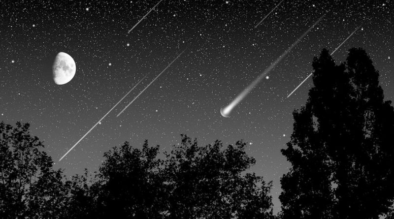 Lluvia de estrellas Delta Acuáridas iluminará el cielo en México a fines de este julio