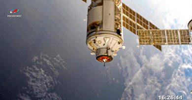 Laboratorio ruso recién llegado desvía la Estación Espacial
